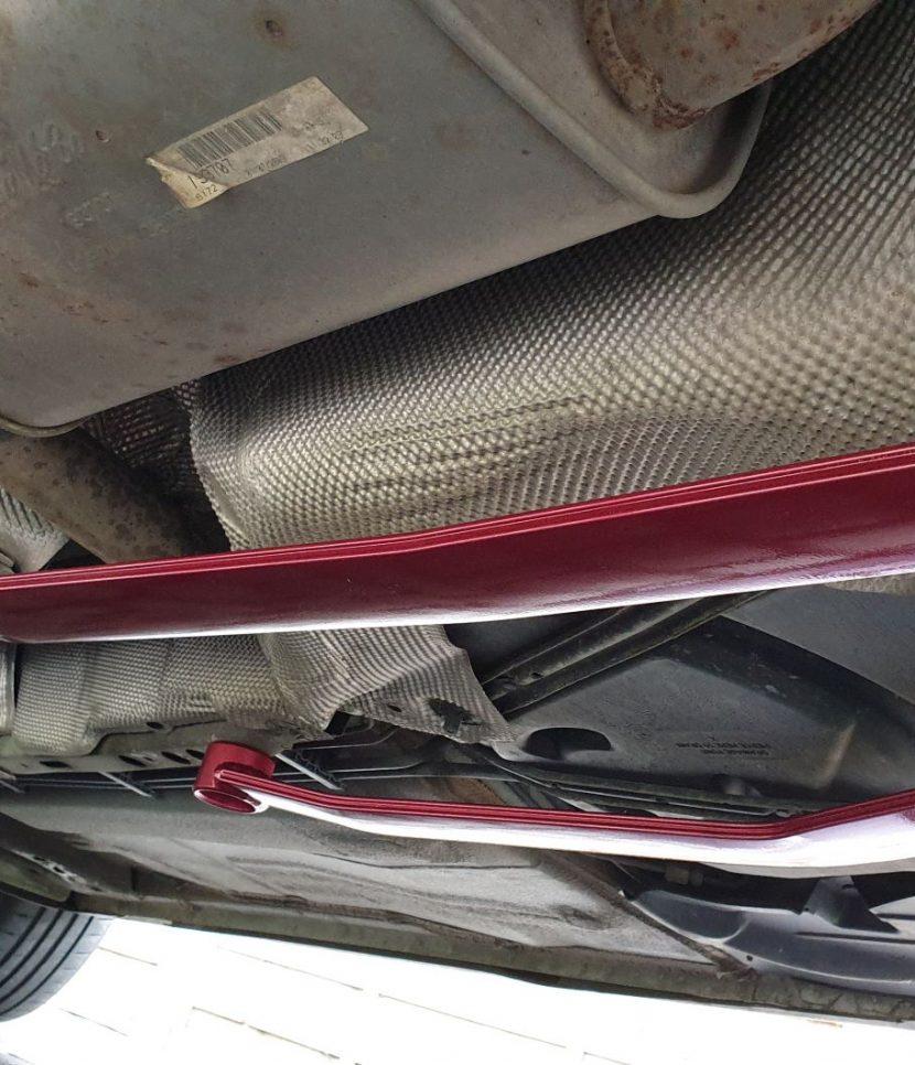 Ford Focus Mk2 Rear Lower Tie Bar